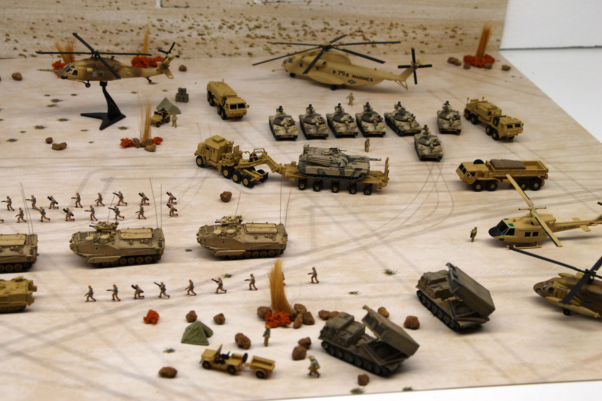 DS144-006 Diorama Sheet [1:144 Military Field(B)