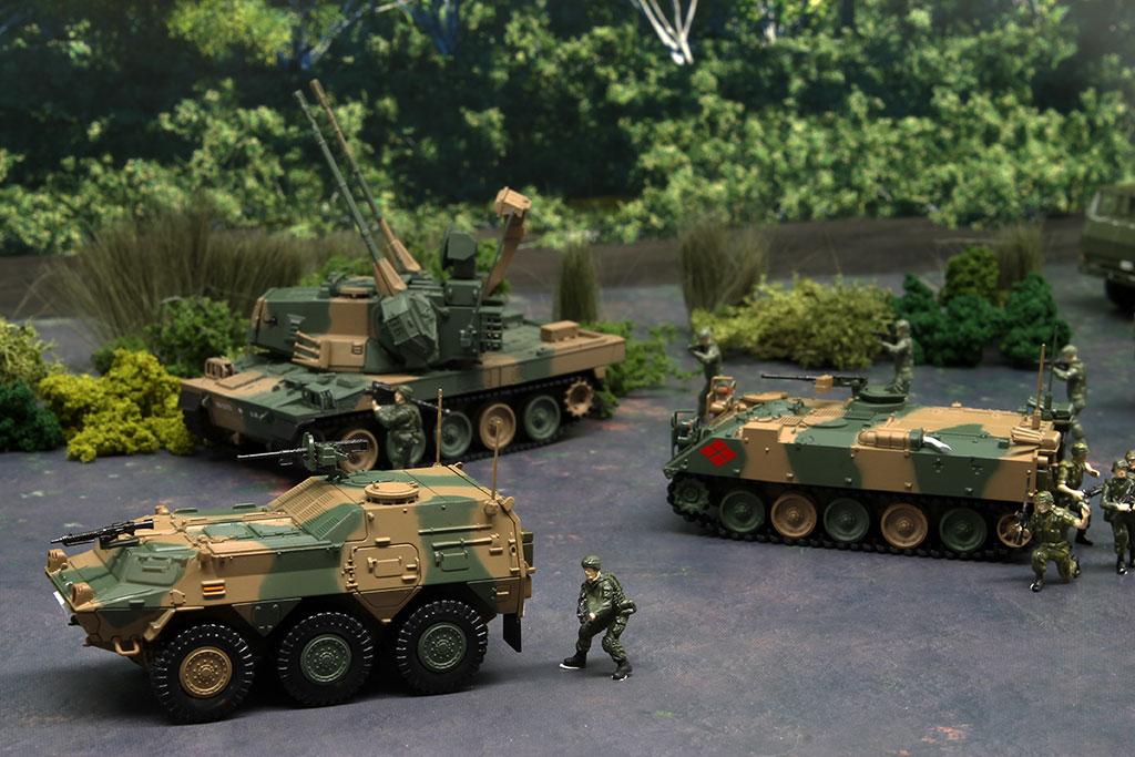 TANK 1//72 Type 87 JSDF Vehicles #16